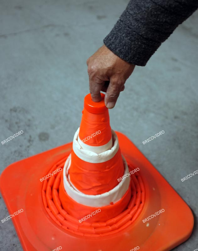 cone signalisation pliable 02