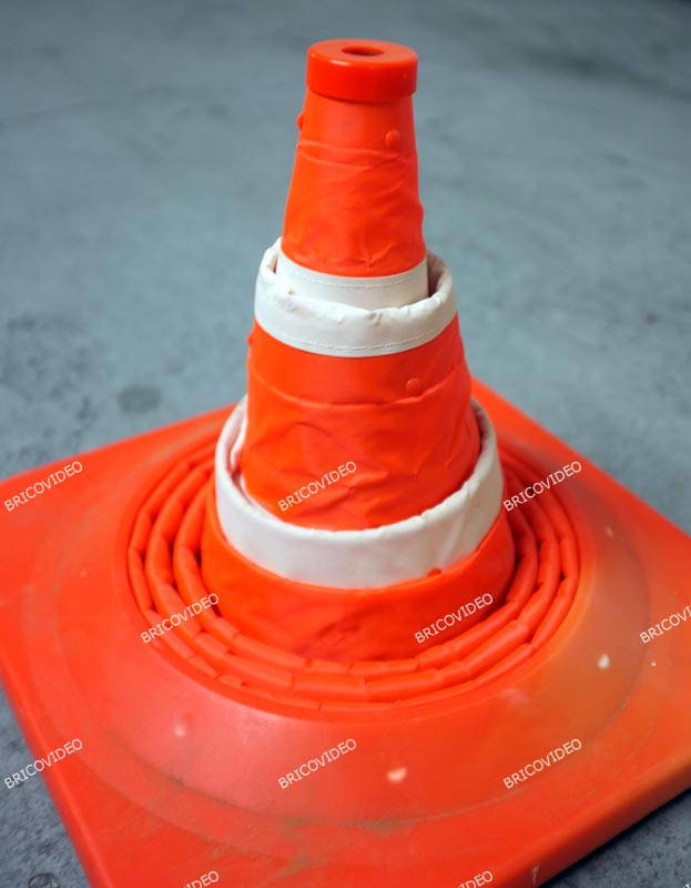 cone signalisation pliable 03