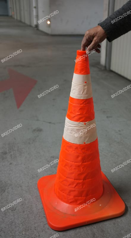 cone signalisation pliable 04