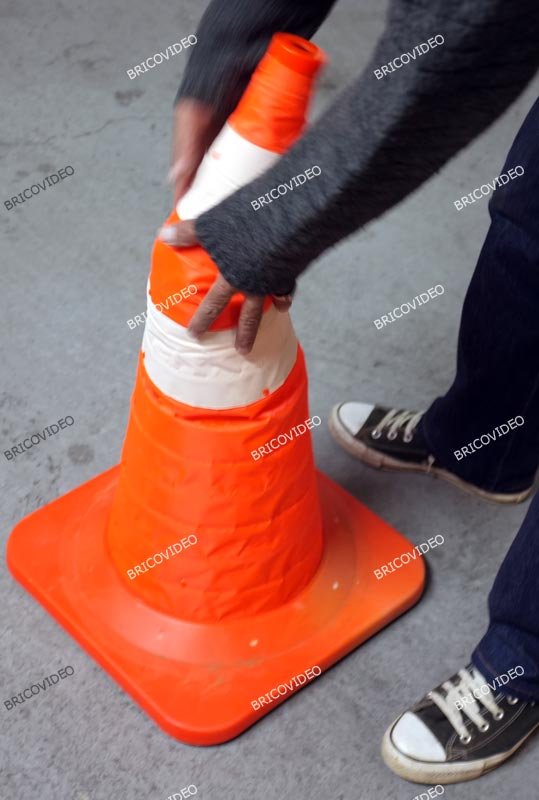 cone signalisation pliable 05