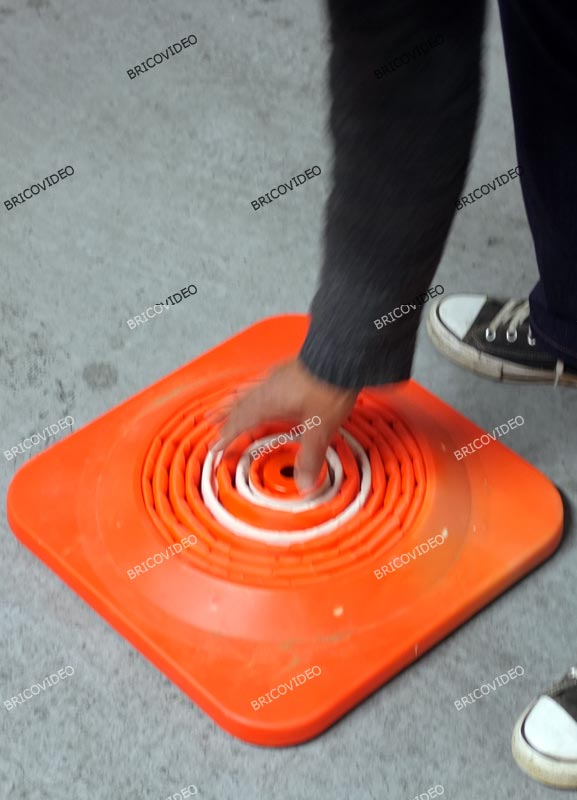 cone signalisation pliable 07