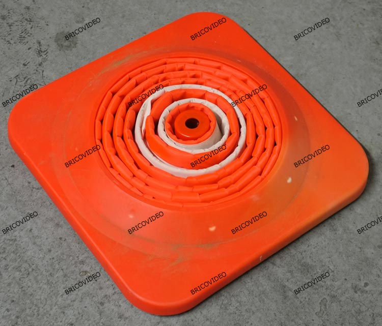 cone signalisation pliable 8