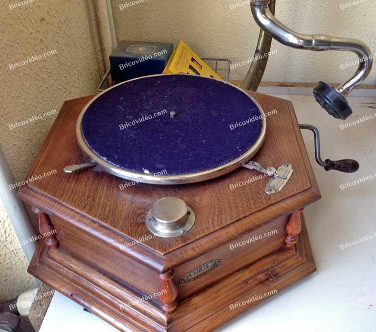 dépanner un phonographe
