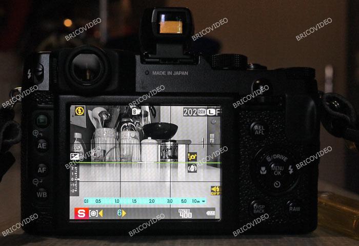 niveau a bulle appareil photo numerique