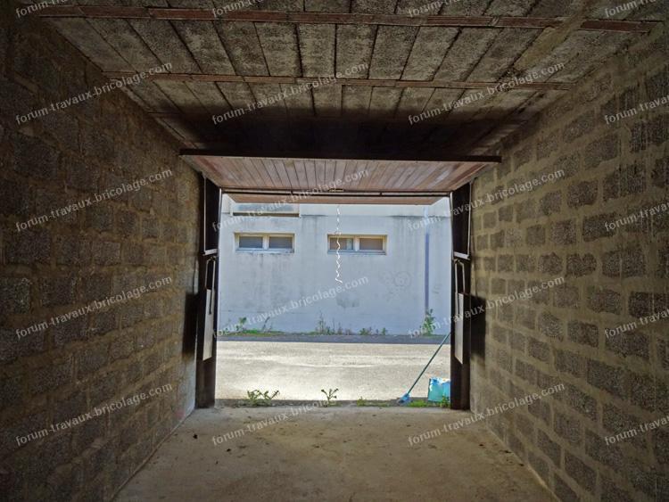 porte de garage ne reste pas ouverte