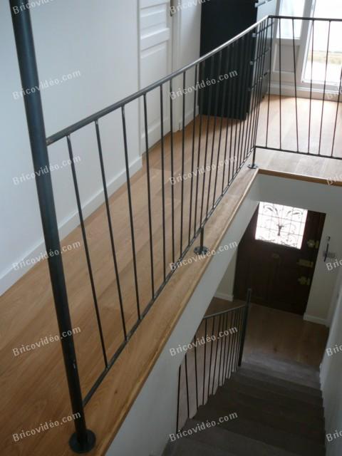 R Alisation Rampe D 39 Escalier En Fer Forg Bricoleurs Poser Vos Questions