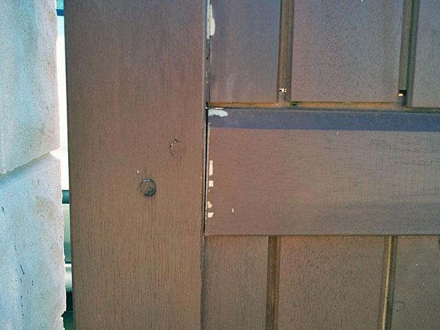 forum travaux bricolage probl me portail 2 vantaux en. Black Bedroom Furniture Sets. Home Design Ideas
