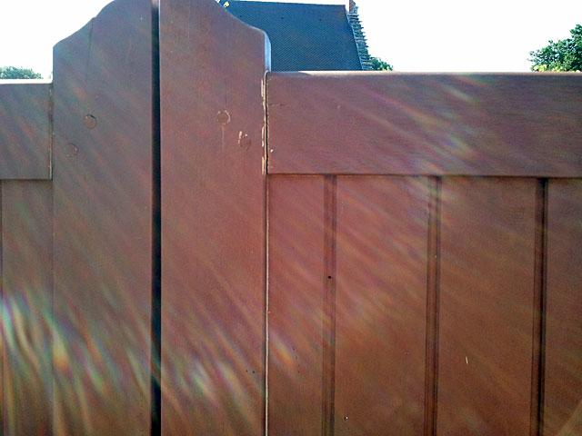 réparation portail bois