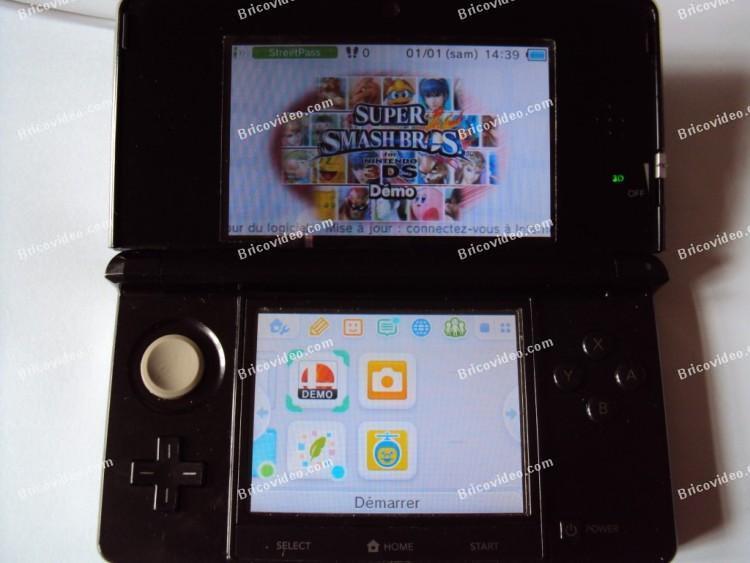 réparation terminée console Nintendo 3DS